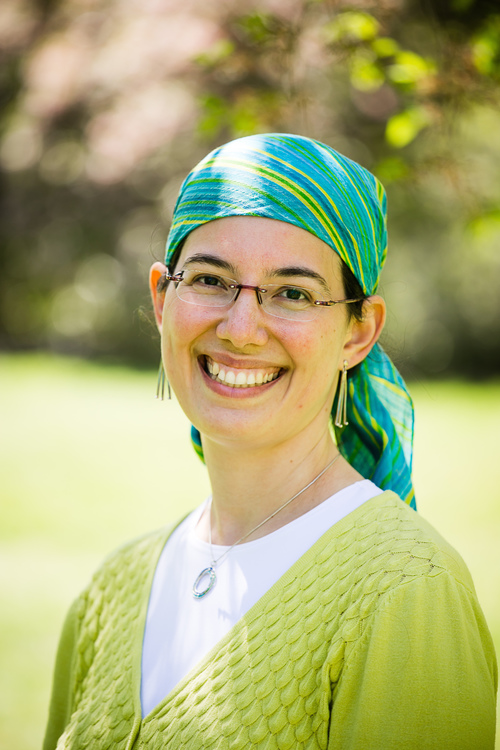 Click photo to download. Caption: Jennie Rosenfeld, who on Feb. 2 assumed the role of spiritual advisor in Efrat, Israel. Credit: Meir Kruter/Kruter Photography.