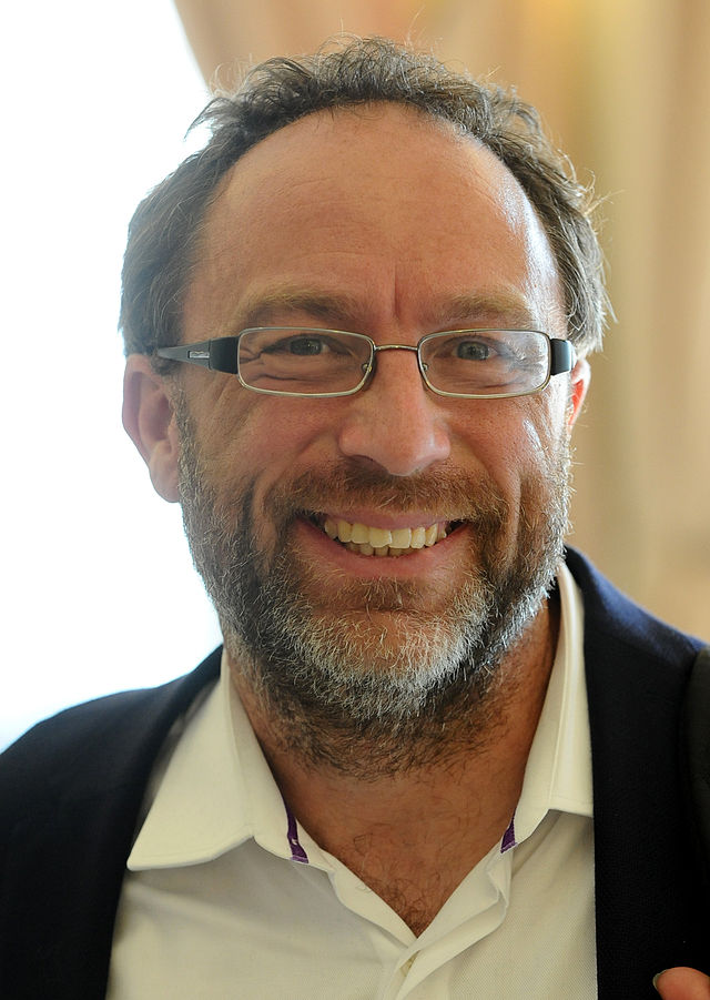 Wikipedia founder Jimmy Wales. Credit: Wikimedia Commons.