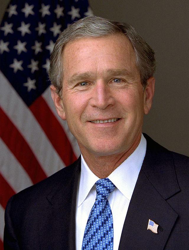 George W. Bush. Credit: White House.