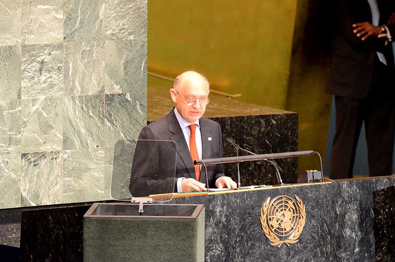 Argentine Foreign Minister Hector Timerman. Credit: Wikimedia Commons.