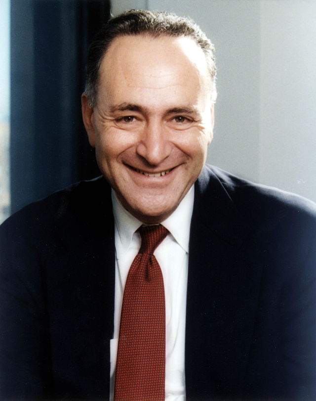 Sen. Chuck Schumer. Credit: U.S. Senate.