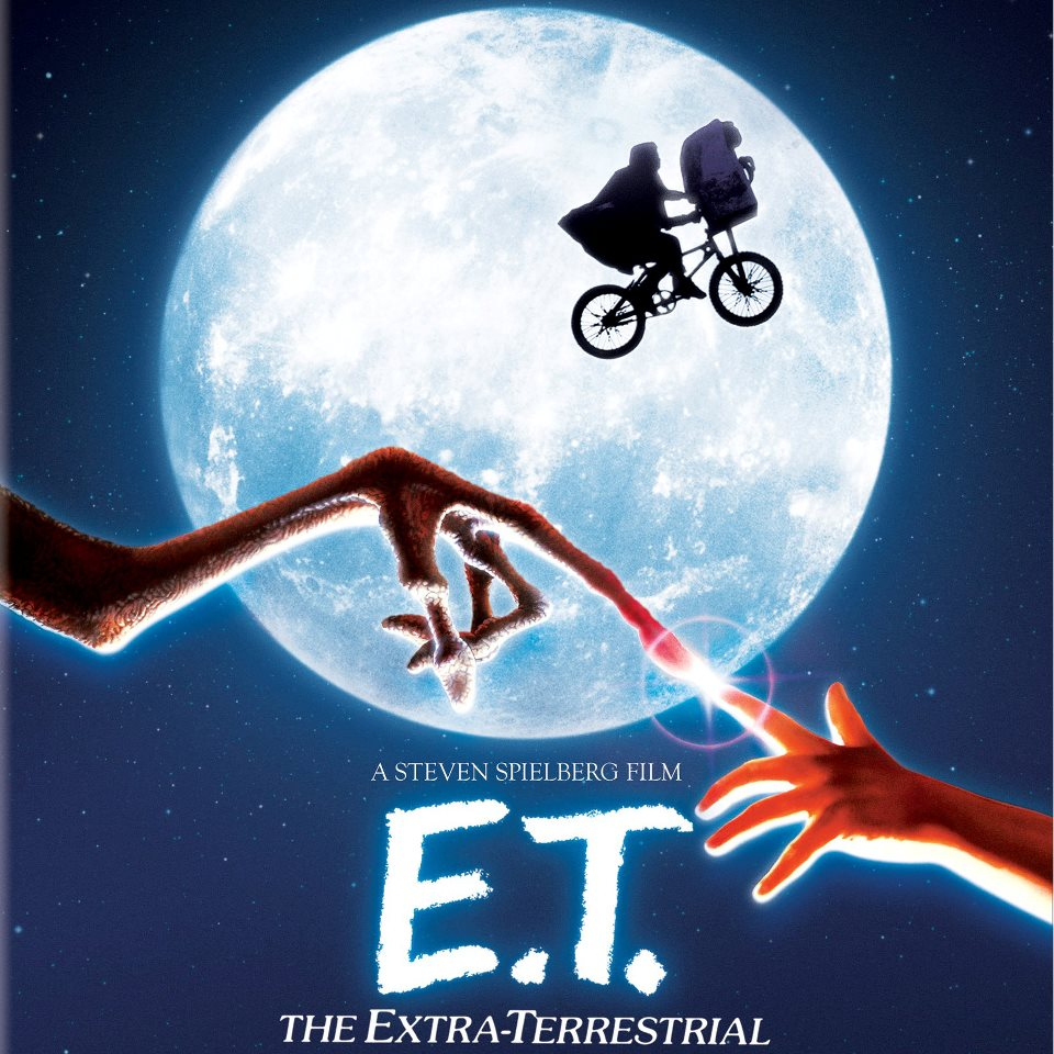 "Click photo to download. Caption: A poster for ""E.T. the Extra-Terrestrial,"" the film that made Cindy Sher fall in love with the movies. Credit: Amblin Entertainment."
