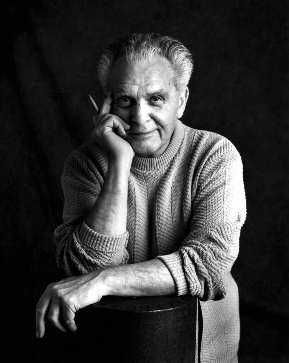 Click photo to download. Caption: Jack Kirby. Credit: Susan Skaar.