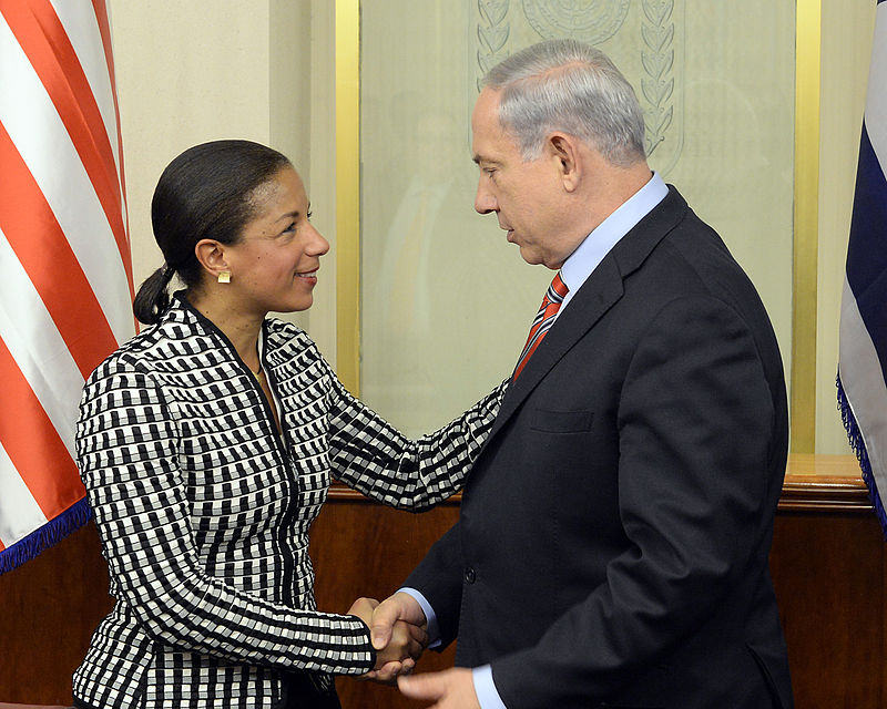National Security Advisor Susan Rice meets Israeli Prime Minister Benjamin Netanyahu in Jerusalem on May 7, 2014. Credit: State Department.
