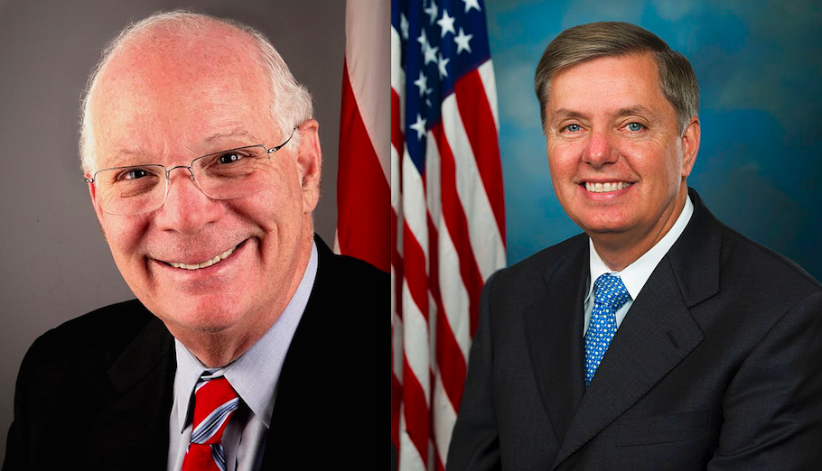 U.S. Sens. Ben Cardin (left) and Lindsey Graham. Credit: U.S. Senate.