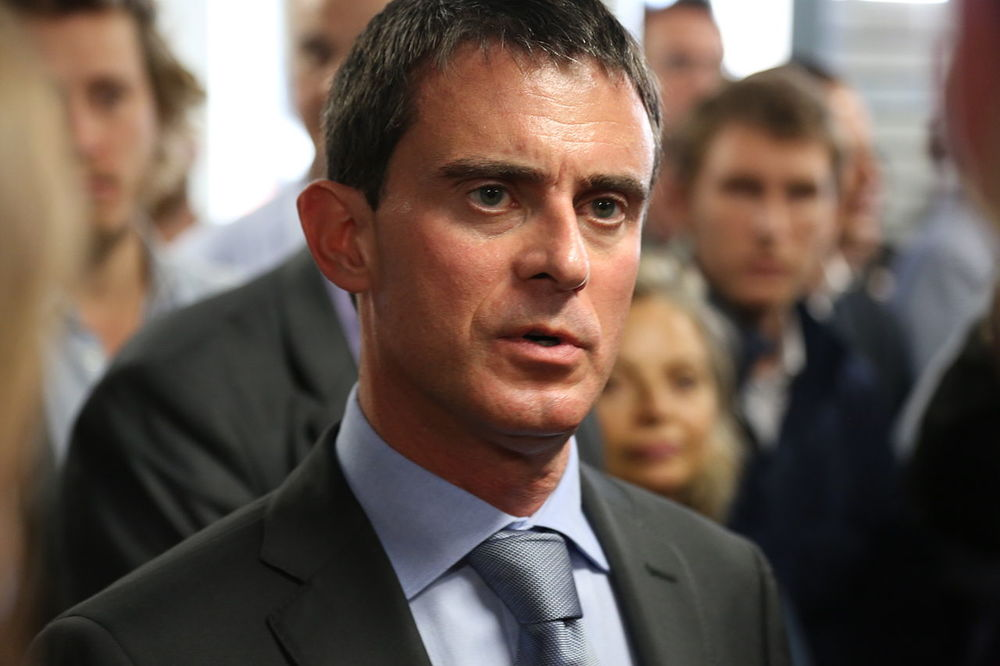 French Prime Minister Manuel Valls. Credit: Wikimedia Commons.