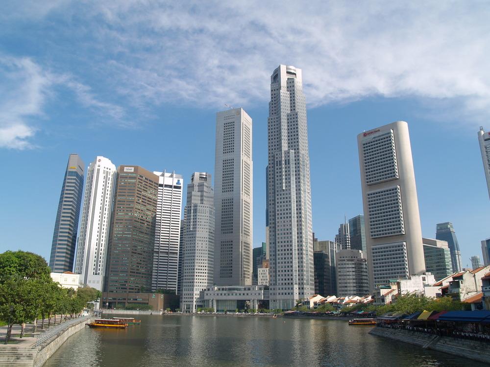 Singapore skyline. Credit: Wikimedia Commons.