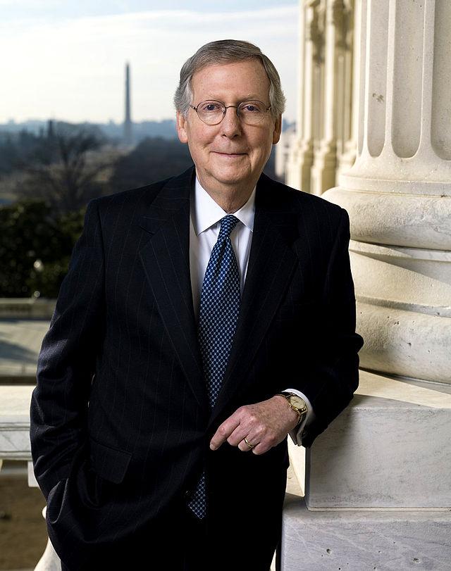 Senate Majority Leader Mitch McConnell. Credit: U.S. Senate.