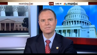 "Rep. Adam Schiff (D-Calif) said on the MSNBC morning talk show ""Morning Joe"" Monday that he would attend Netanyahu's Congress speech on Tuesday despite having ""strong reservations."" Credit: YouTube screenshot."