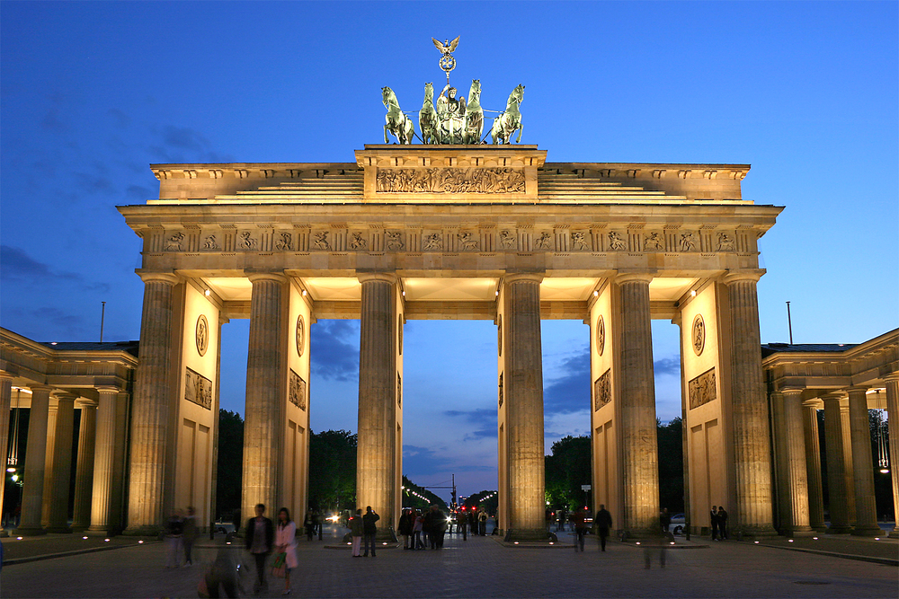 The Brandenburg Gate in Berlin, Germany. Credit: Wikimedia Commons.