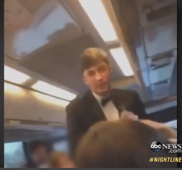 Last week a video of SAE fraternity members at the University of Oklahoma chanting a racist song went viral, prompting a swift and harsh reaction from the university and the public. Credit: YouTube screenshot from controversial video via an ABC News report.