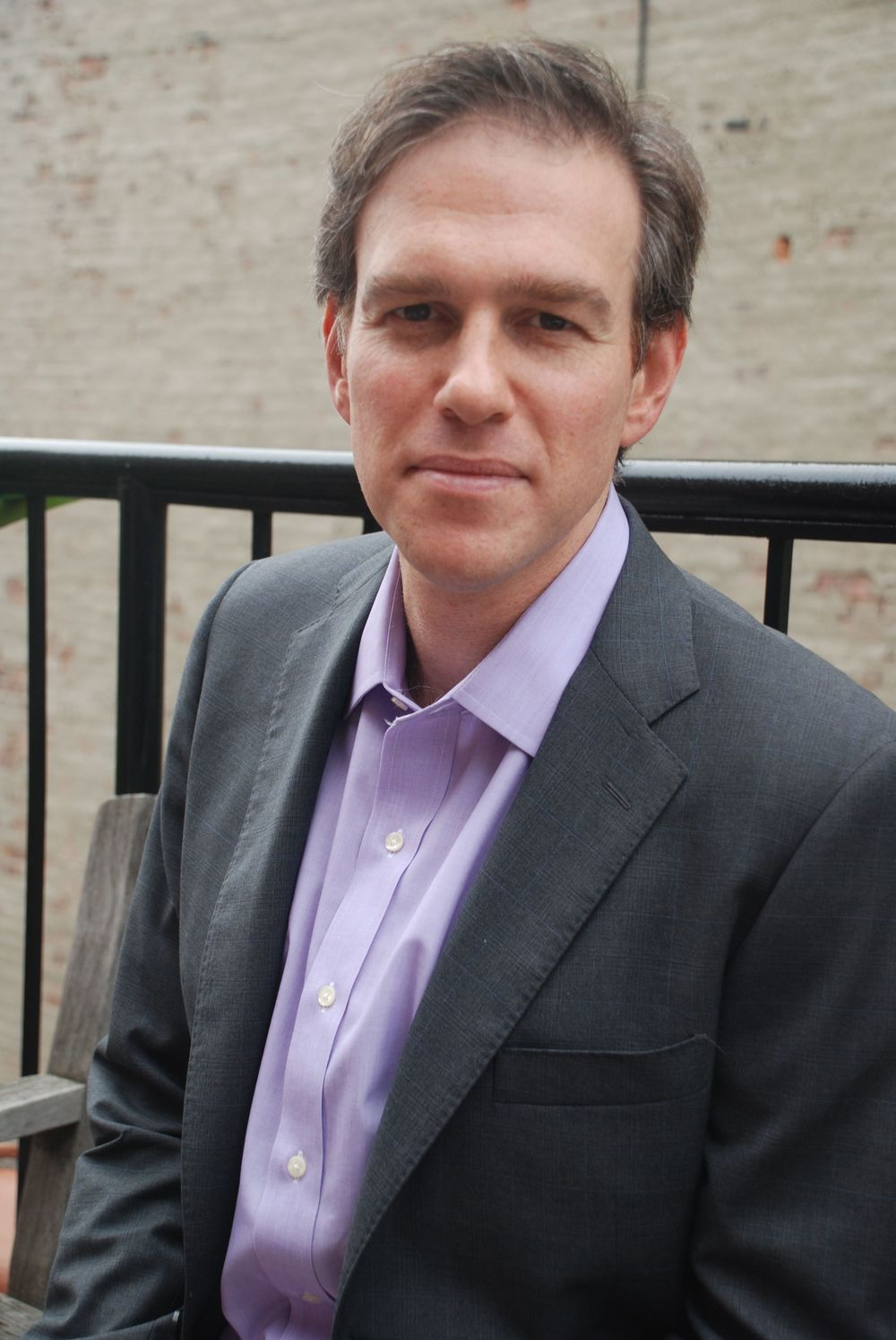 "Click photo to download. Caption: ""America in Retreat"" author Bret Stephens. Credit: Thane Rosenbaum."