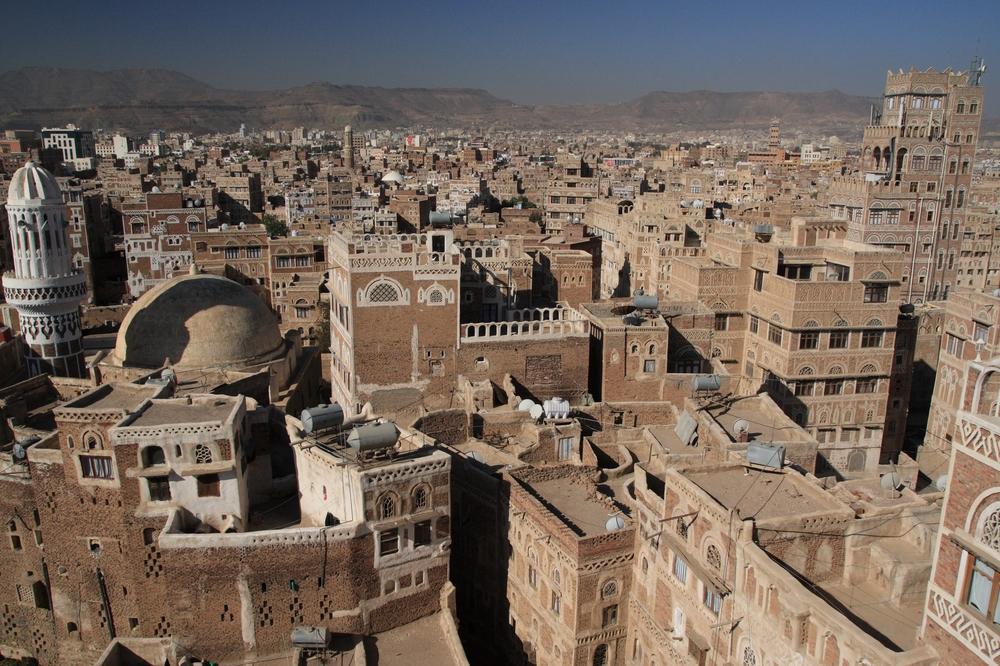 Yemen's capital, Sana'a. Credit: Wikimedia Commons.