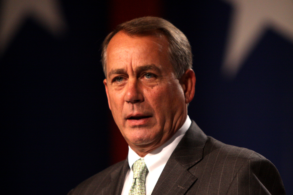 Speaker of the U.S. House of Representatives John Boehner. Credit: Wikimedia Commons.