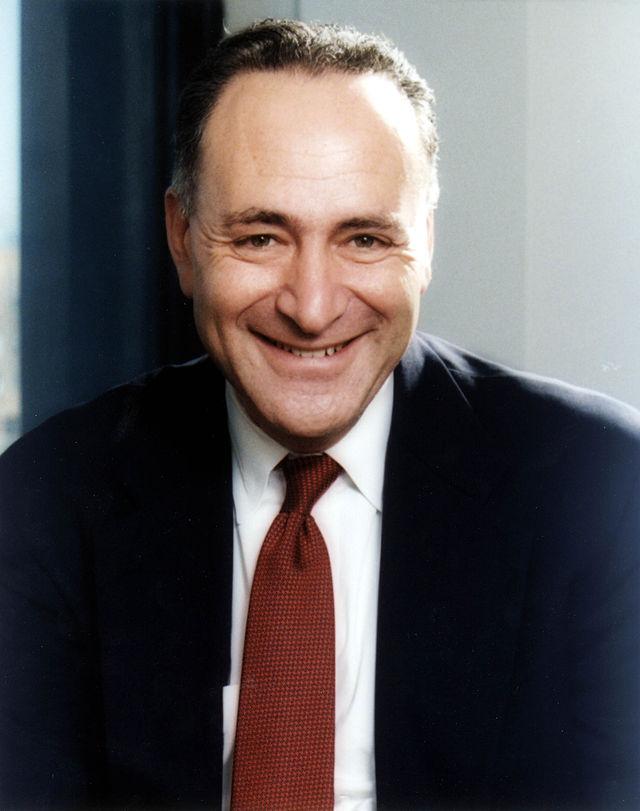 Senator Chuch Schumer (D-NY). Credit: U.S. Senate.
