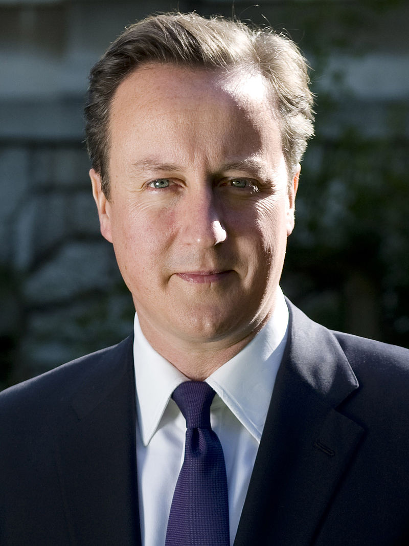 British Jews overwhelmingly support British Prime Minister David Cameron's Conservative Party in upcoming national elections. Credit: Wikimedia Commons.