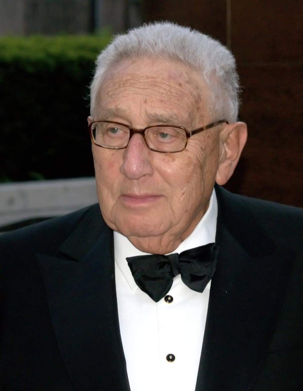 Former U.S. secretaryof state Henry Kissinger. Credit: David Shankbone.