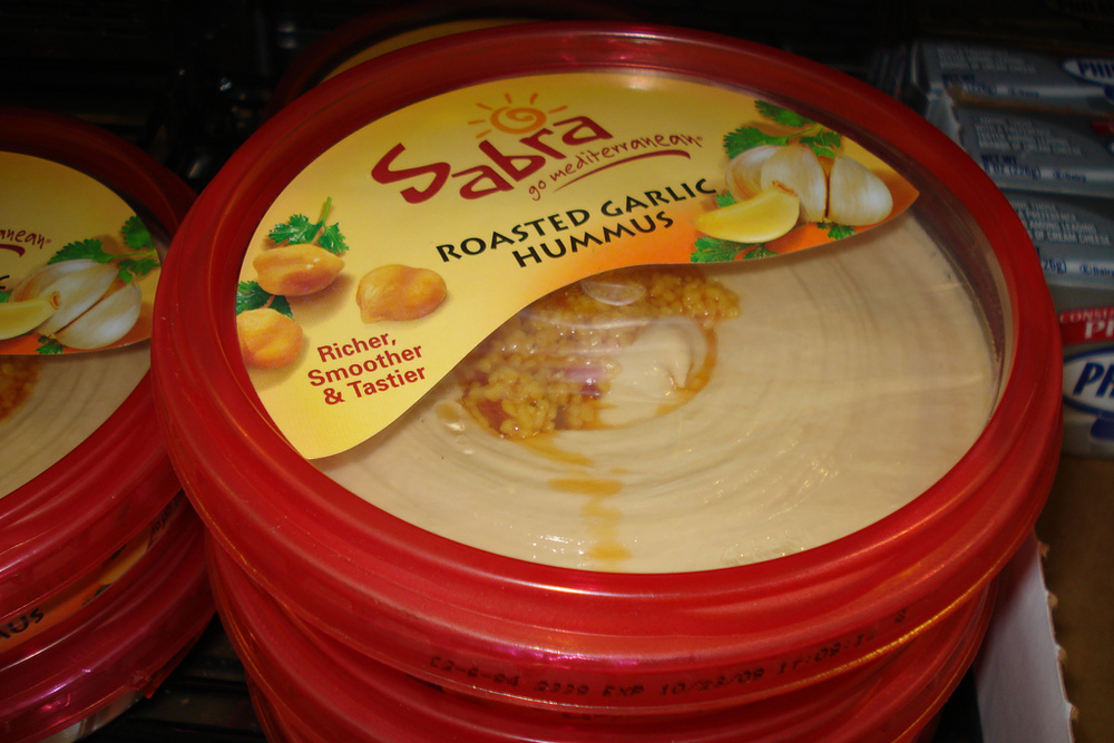 Sabra has recalled containers of it's popular Hummus over Listeria fears. Credit: Yael Beeri via Flickr.com.