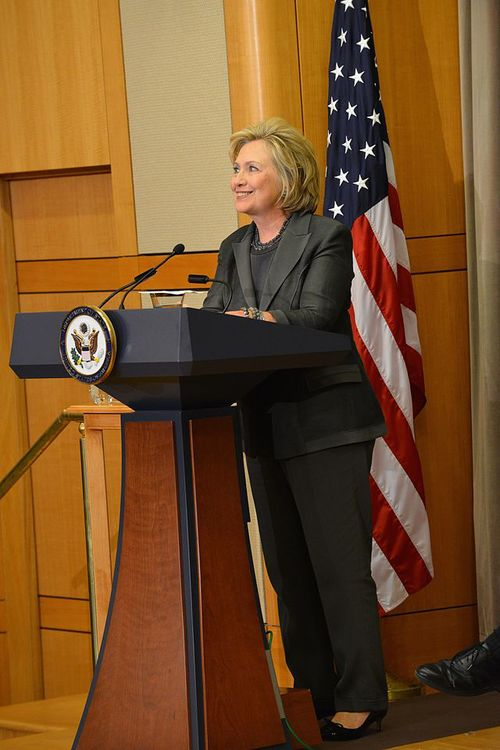 Hillary Clinton. Credit: Wikimedia Commons.