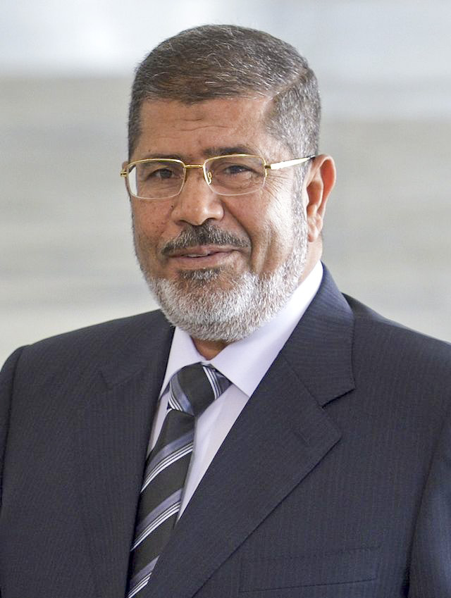 Mohamed Morsi. Credit: Wikimedia Commons.