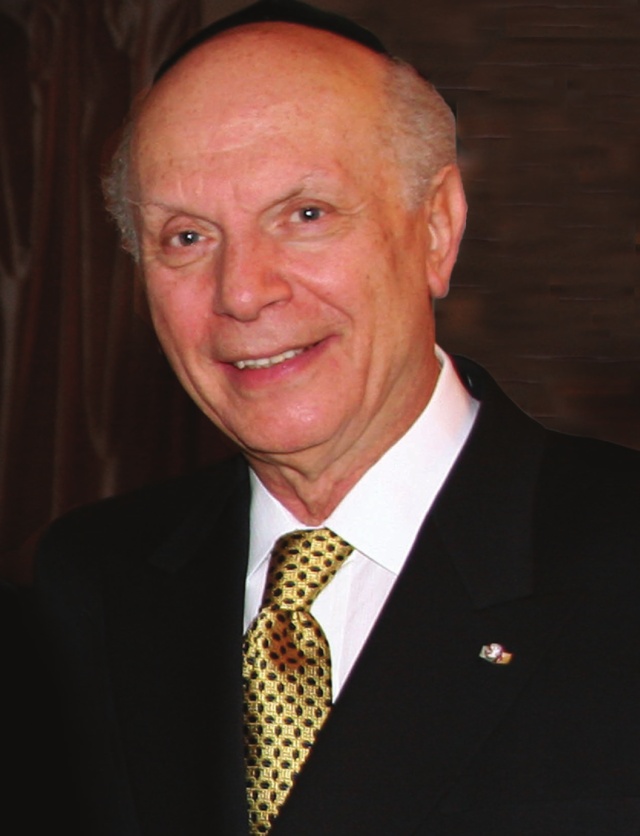 Rabbi Arthur Schneier. Credit: Wikimedia Commons.
