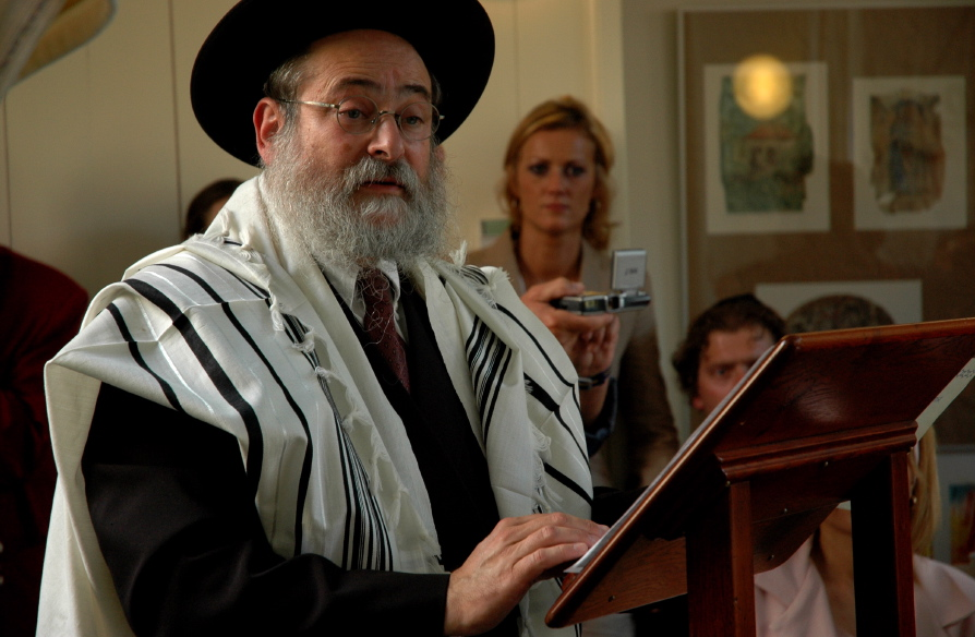 Dutch Baptist pastor Stan Kamps was disheartened by a report that Dutch Chief Rabbi Benjamin Jacobs, pictured, has faced anti-Semitic insults on the streets. Credit: Wikimedia Commons.
