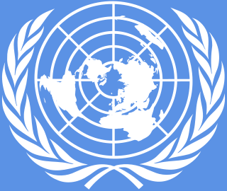 The logo of the United Nations. Credit: Wikimedia Commons.