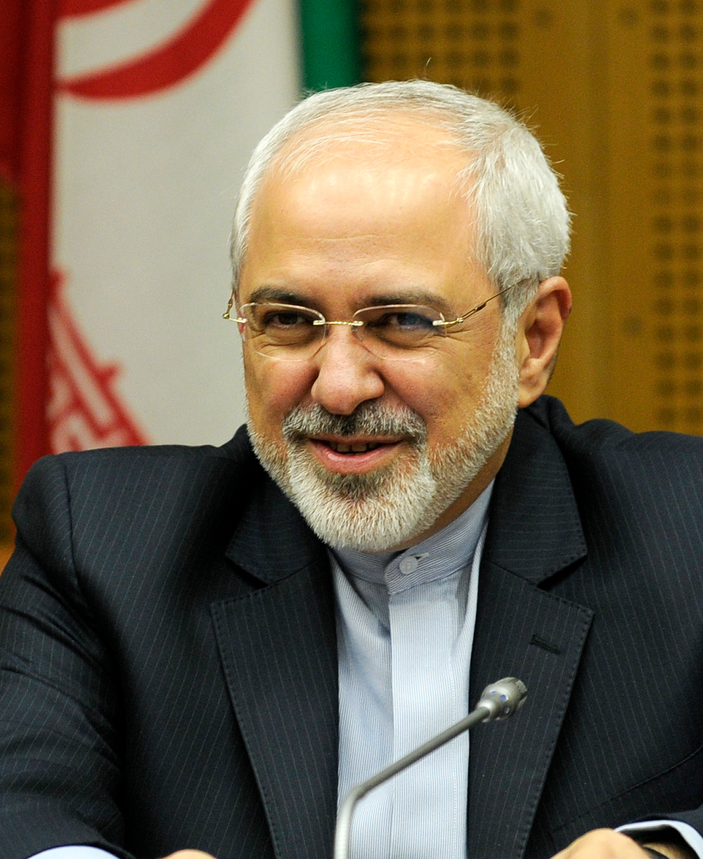 Iranian Foreign Minister Mohammad Javad Zarif. Credit: Wikimedia Commons.