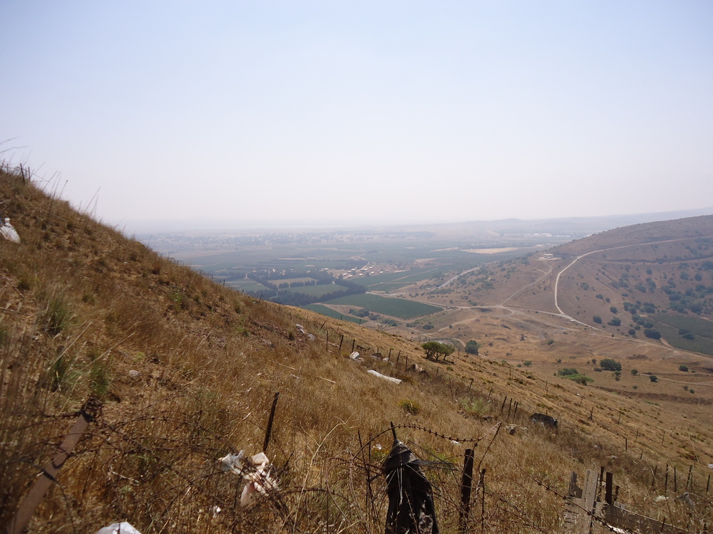 The Lebanon-Syria-Israel border. Credit: Wikimedia Commons.