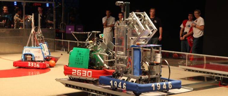 A FIRST robotics competition. Credit: FIRST Israel/Avishai Finkelstein.