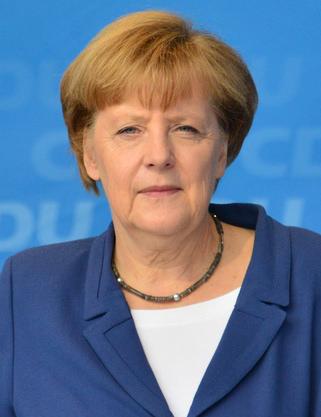 German Chancellor Angela Merkel. Credit: Wikimedia Commons.