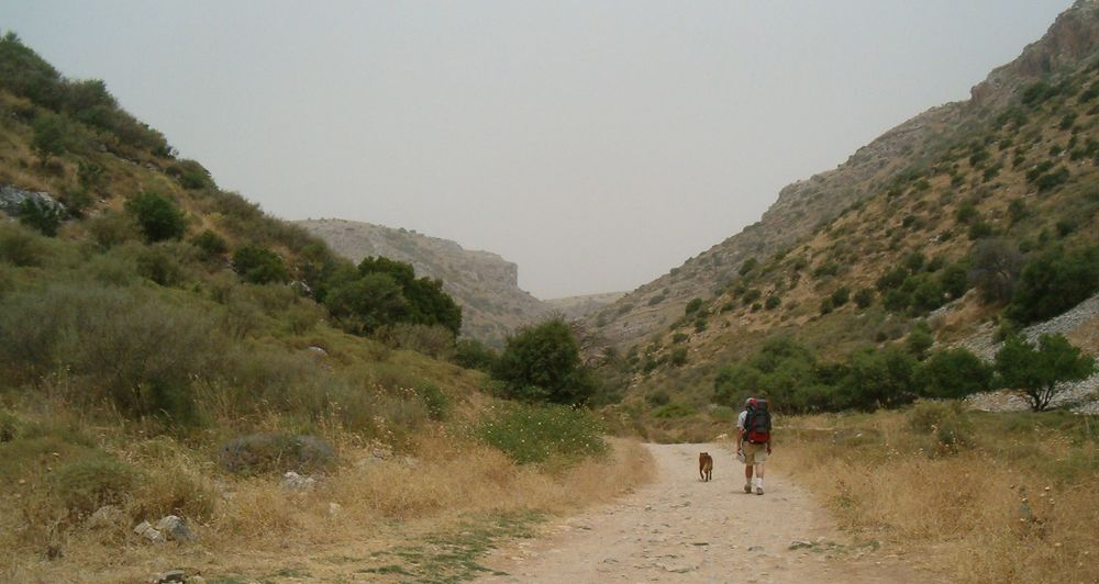 The Israel National Trail (pictured) is 600 miles long and crosses the entire country. Credit: Wikimedia Commons.