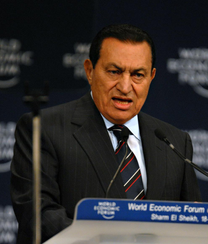 Former Egyptian President Hosni Mubarak. Credit: Wikimedia Commons.