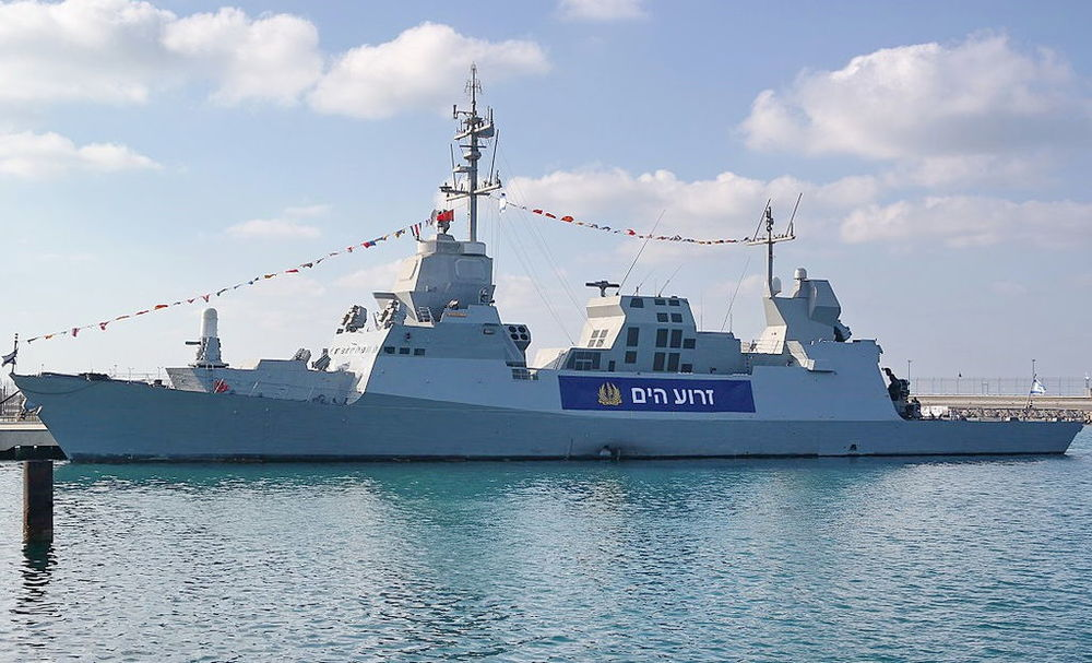 A Sa'ar-class corvette in the Israeli Navy. Israel has reached a deal with Germany to purchase four new Sa'ar-class corvettes for $480 million. Credit: Ilan Rom via Wikimedia Commons.