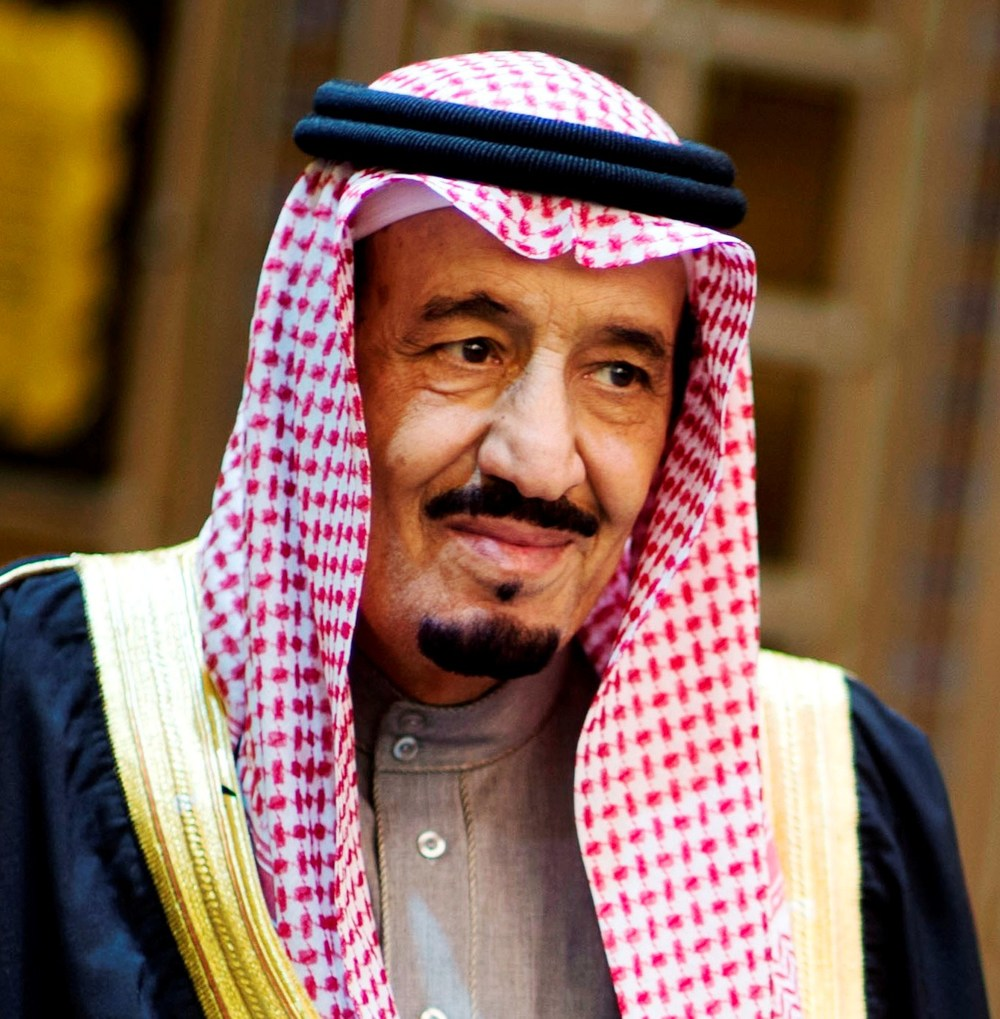 King Salman of Saudi Arabia. Credit: Secretary of Defense.