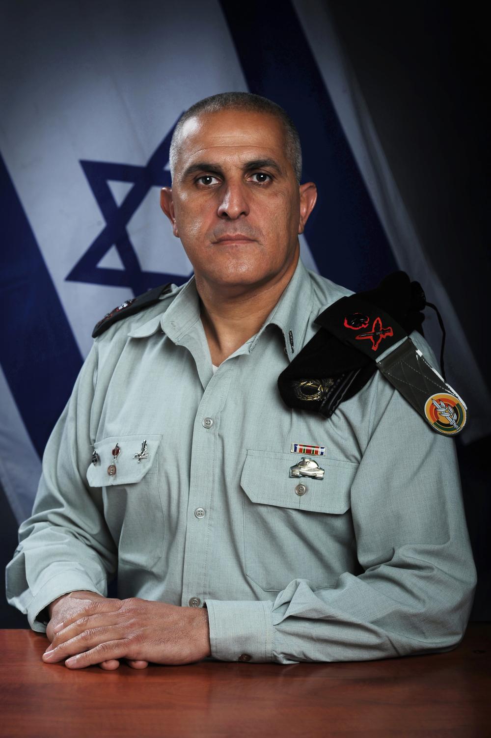 IDF southern commander Major General Sami Turgeman. Credit: IDF Spokesperson.