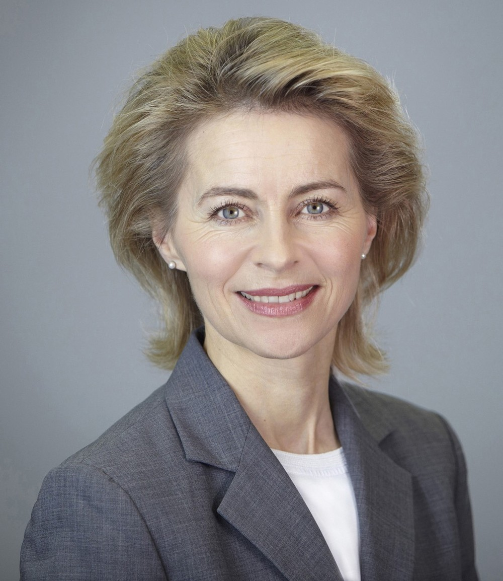 German Defense Minister Ursula von der Leyen. Credit: Wikimedia Commons.