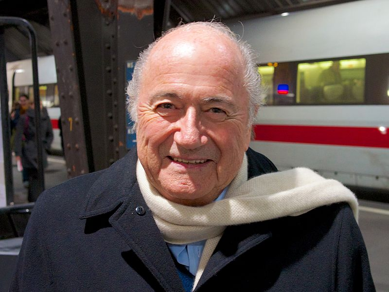 FIFA head Sepp Blatter. Credit: Wikimedia Commons.