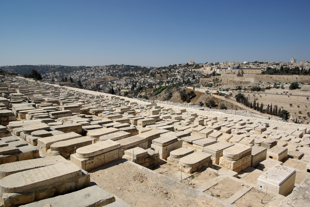 Click photo to download. Caption: Every tombstone overturned in the historic Mount of Olives Jewish cemetery (pictured here) should be treated as an attack on our forefathers, writes Member of Knesset Danny Danon. Credit: Berthold Werner via Wikimedia Commons.