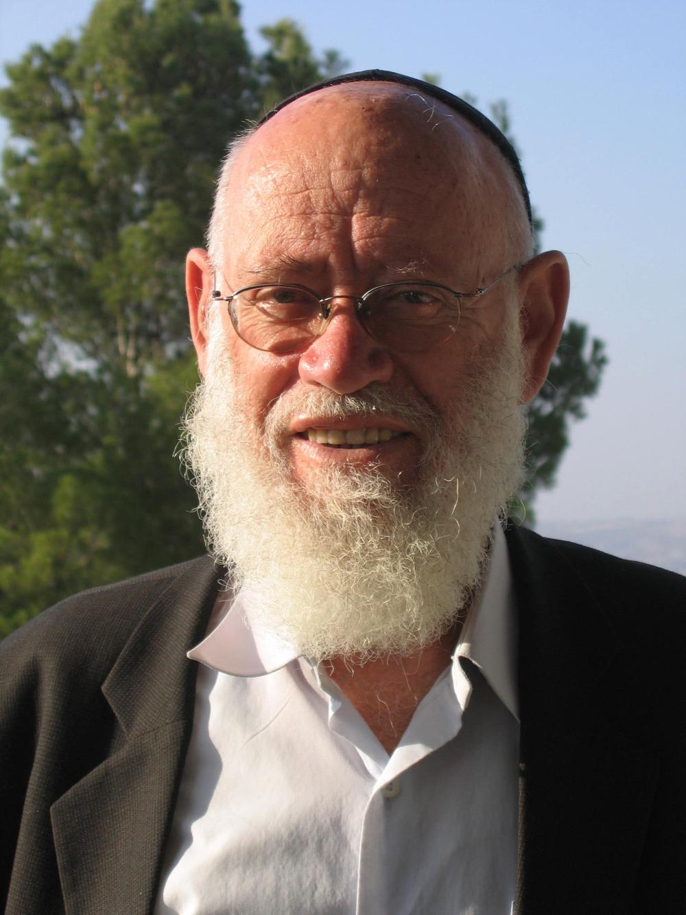 Rabbi Moshe Levinger. Credit: Wikimedia Commons.