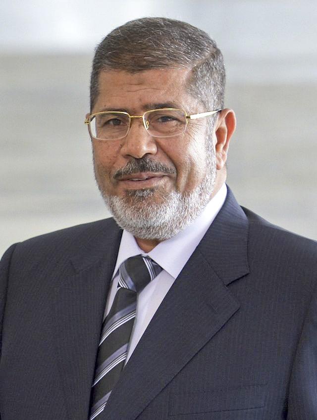 Mohammed Morsi. Credit: Wikimedia Commons.