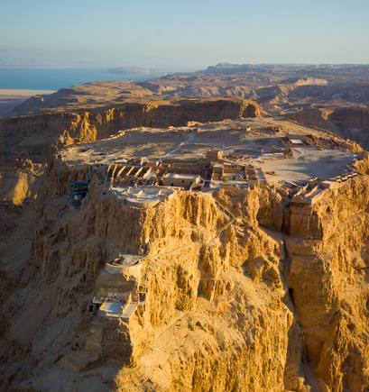 Masada. Credit: Wikimedia Commons.