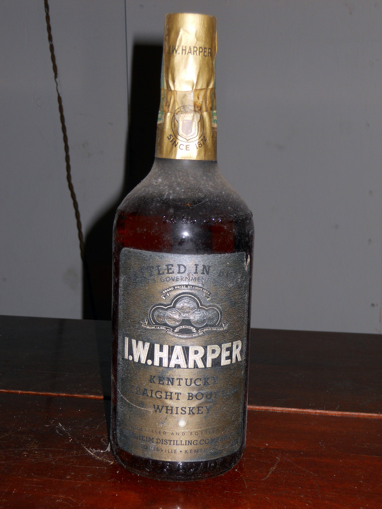 The I.W. Harper Kentucky bourbon brand was founded by a Jewish entrepreneur. Credit: millerm217 via Flickr.