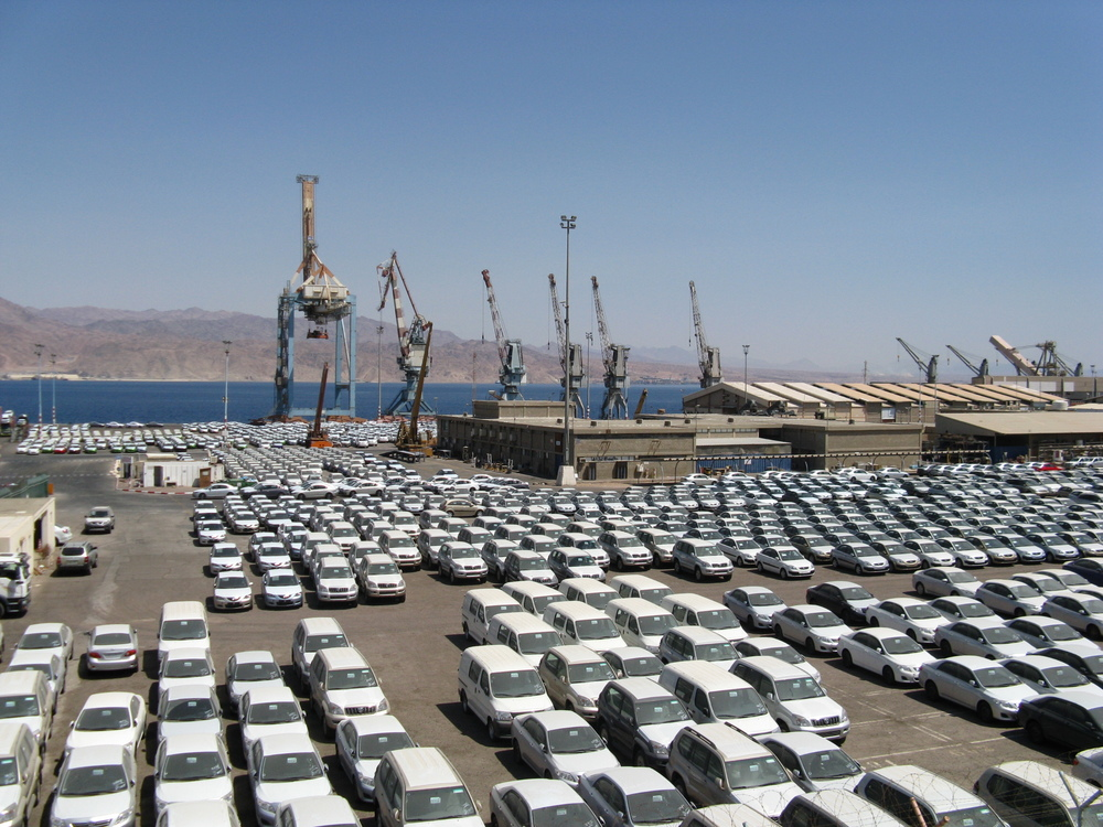 The Eilat port. Credit: Wikimedia Commons.