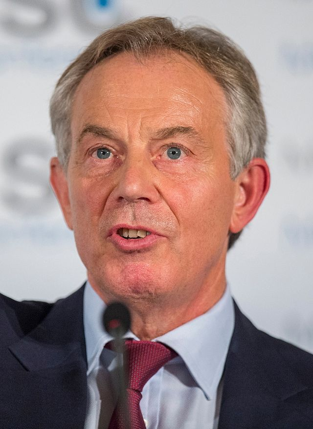 Tony Blair. Credit: Müller / MSC via Wikimedia Commons.