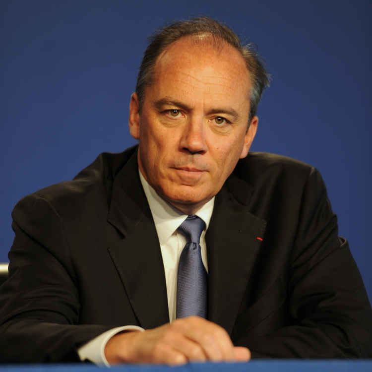 Orange CEO Stephane Richard. Credit: Guillaume Paumier via Wikimedia Commons.