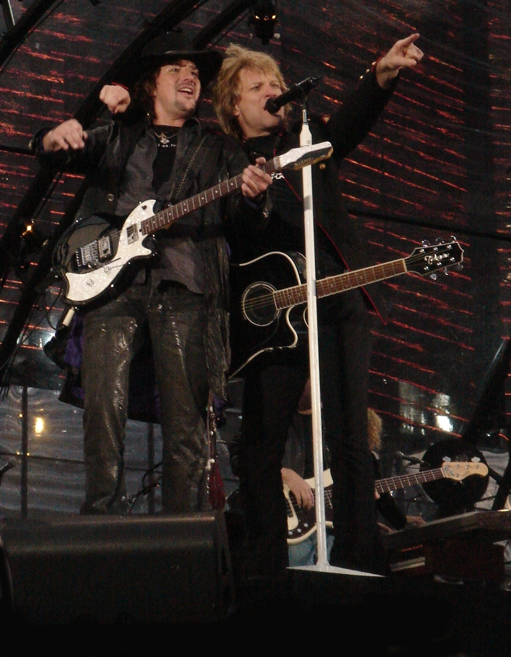 Bon Jovi (pictured) will perform in Israel in October. Credit: Wikimedia Commons.