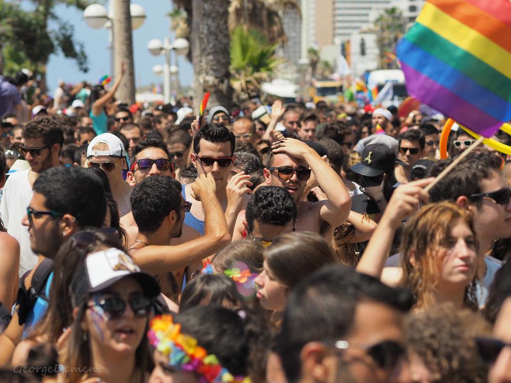 Tel Aviv's 2015 gay pride parade on June 12. Credit:GeorgeDement via Wikimedia Commons.