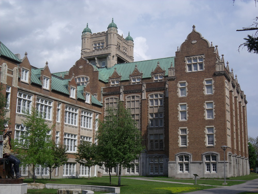 Click photo to download. Caption: The Loyola Campus of Concordia University in Montreal. Credit: Thomas1313 via Wikimedia Commons.