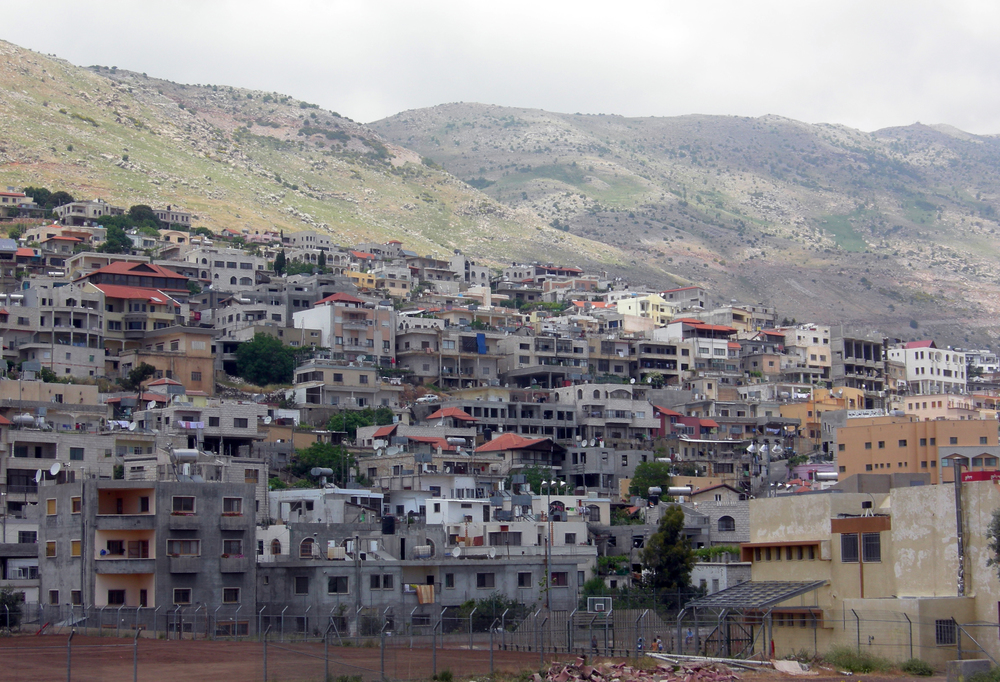 The Israeli Druze village of Majdal Shams in the Golan Heights. Credit: Wikimedia Commons.